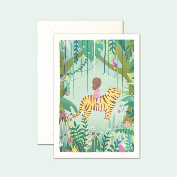 kaartenset-meisje-jungle