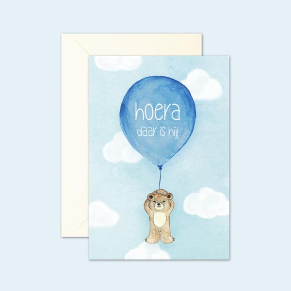 kaartenset-beertje-geboorte-jongen
