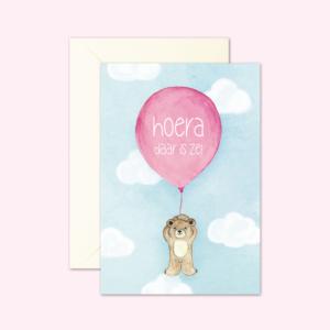 kaartenset-beertje-geboorte-meisje