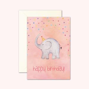 kaart_verjaardag_olifant-kikkerenprins