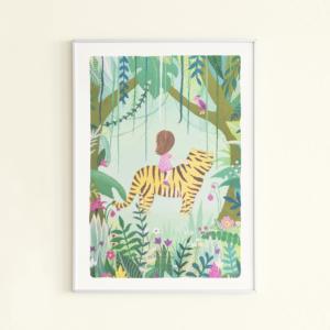 posterset-jungle-meisje-kikkerenprins