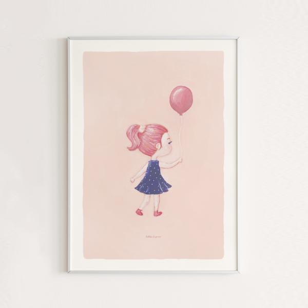posterset-meisje-met-ballon